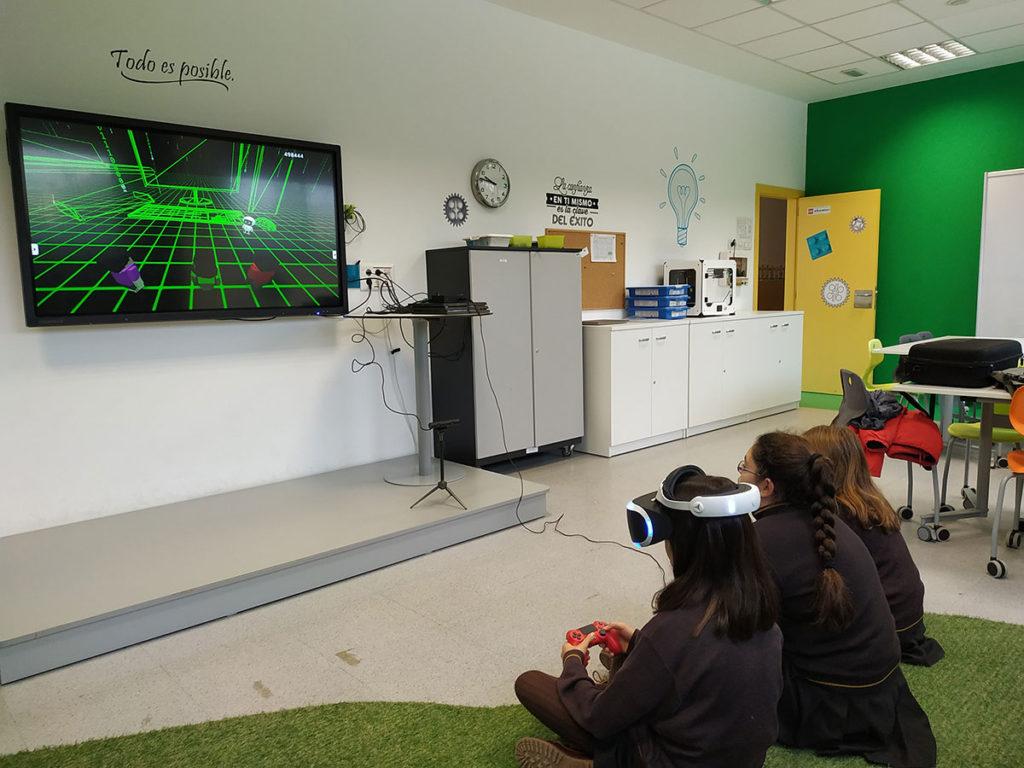 Realidad virtual Roboticlab